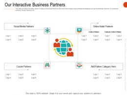 Our Interactive Business Partners Ppt Infographic Template