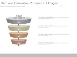 Our Lead Generation Process Ppt Images