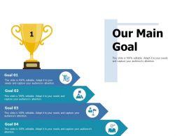Our Main Goal Ppt Portfolio Professional