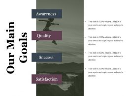 Our Main Goals Powerpoint Templates Microsoft