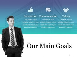 Our Main Goals Ppt Examples Professional Template 1