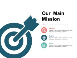 Our Main Mission Presentation Layouts Template 1