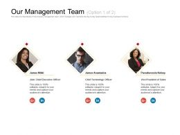 Our Management Team Paraskevoula Ppt Powerpoint Presentation Examples