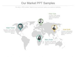 Our Market Ppt Samples