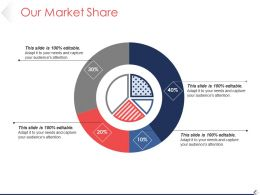 Our Market Share Ppt Background Images