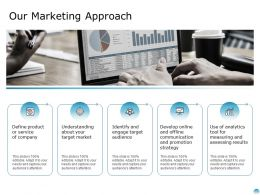 Our Marketing Approach Ppt Powerpoint Presentation Inspiration Graphics Design