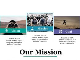 Our Mission Achievement F491 Ppt Powerpoint Presentation Inspiration Master Slide