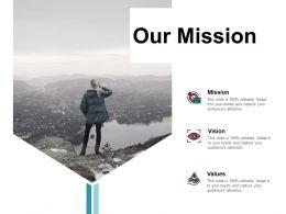 Our Mission Achievement I136 Ppt Powerpoint Presentation File Clipart Images
