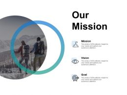 Our Mission And Goal Vision D252 Ppt Powerpoint Presentation Gallery Mockup