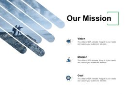 Our Mission And Vision D242 Ppt Powerpoint Presentation Gallery Graphics