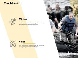 Our Mission And Vision D329 Ppt Powerpoint Presentation Ideas Deck