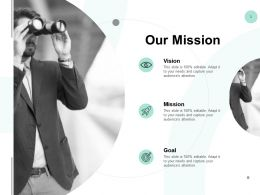 Our Mission And Vision F41 Ppt Powerpoint Presentation Styles Good