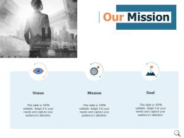 Our Mission And Vision Goal D10 Ppt Powerpoint Presentation Icon Backgrounds