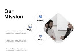 Our Mission And Vision Goal D280 Ppt Powerpoint Presentation Ideas Examples