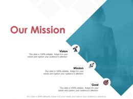 Our Mission And Vision Goal D319 Ppt Powerpoint Presentation File Outfit