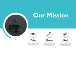Our Mission And Vision Goal D36 Ppt Powerpoint Presentation Show Objects