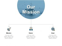 Our Mission And Vision Goal D39 Ppt Powerpoint Presentation Slides Background Image