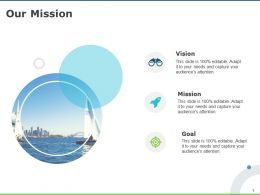 Our Mission And Vision Goal D65 Ppt Powerpoint Presentation Infographics Slides
