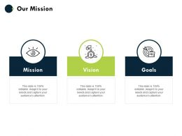 Our Mission And Vision Goals D79 Ppt Powerpoint Presentation Layouts Designs Download