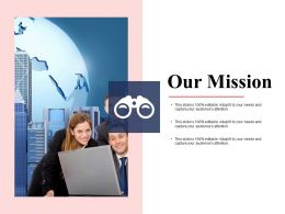 Our Mission Audiences I7 Attention Ppt Powerpoint Presentation File Ideas