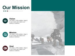Our Mission Business Process Management Ppt Ideas Graphics Example