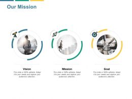 Our Mission Goal B60 Ppt Powerpoint Presentation File Brochure