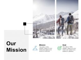 Our Mission Goal F240 Ppt Powerpoint Presentation Professional Background Image