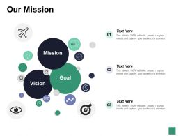 Our Mission Goal Marketing Strategy Value Achievement
