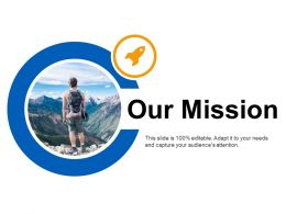 Our Mission Goal Ppt Layouts Designs Download