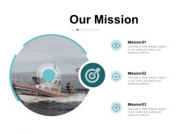 Our Mission Goal Ppt Powerpoint Presentation Inspiration Slides