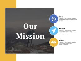 Our Mission Goal Vision A236 Ppt Powerpoint Presentation Slides Ideas