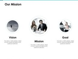 Our Mission Goal Vision A59 Ppt Powerpoint Presentation Show Example Topics