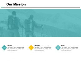 Our Mission Goal Vision F177 Ppt Powerpoint Presentation Professional Themes