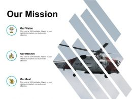 Our Mission Goal Vision F228 Ppt Powerpoint Presentation Pictures Slides