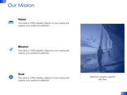 Our Mission Goal Vision F356 Ppt Powerpoint Presentation Pictures Display