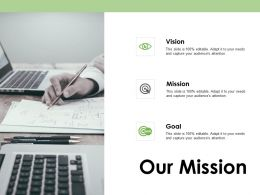 Our Mission Goal Vision F376 Ppt Powerpoint Presentation Portfolio Pictures