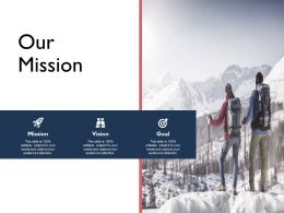 Our Mission Goal Vision F677 Ppt Powerpoint Presentation Model Inspiration