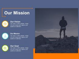 Our Mission Information Services Ppt File Ideas
