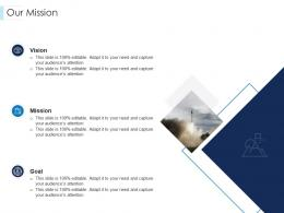 Our Mission Leaders Guide To Corporate Culture Ppt Rules