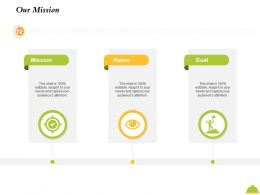 Our Mission M2432 Ppt Powerpoint Presentation Infographics Graphic Tips