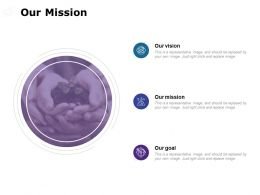 Our Mission Our Goal C666 Ppt Powerpoint Presentation File Visuals