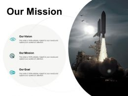 Our Mission Our Goal Ppt Powerpoint Presentation Portfolio Designs Download