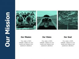 Our Mission Our Vision A503 Ppt Powerpoint Presentation Show Infographic Template