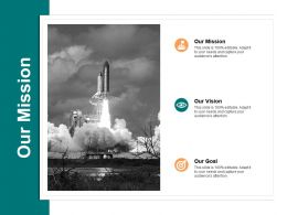 Our Mission Our Vision A564 Ppt Powerpoint Presentation Infographic Template Graphics Template