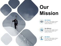 Our Mission Our Vision Ppt Powerpoint Presentation Infographics Format Ideas
