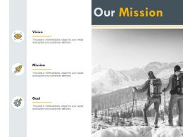 Our Mission Planning H191 Ppt Powerpoint Presentation Professional File Formats