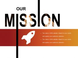 Our Mission Powerpoint Presentation Examples