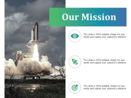 Our Mission Powerpoint Slide Background Picture