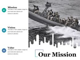 Our Mission Powerpoint Slide Backgrounds