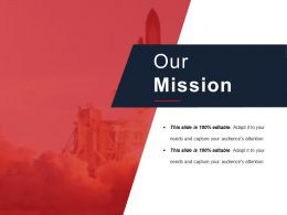 Our Mission Powerpoint Slide Deck